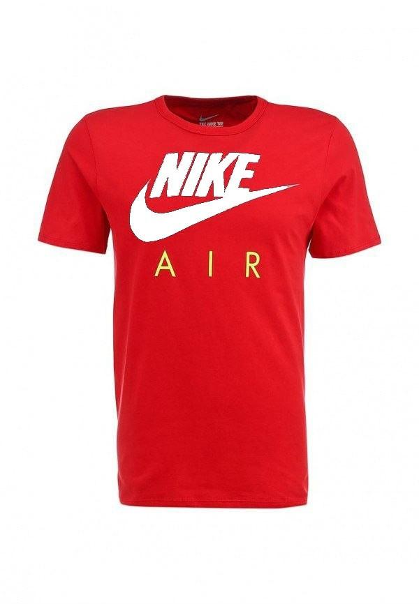 Футболка Nike   Найк красная