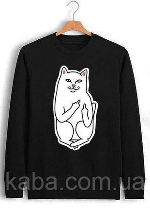 Свитшот RIPNDIP CAT Кофта РипНДип кот