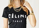 Женская Футболка Celine Paris Селин Париж ( Белая), фото 6