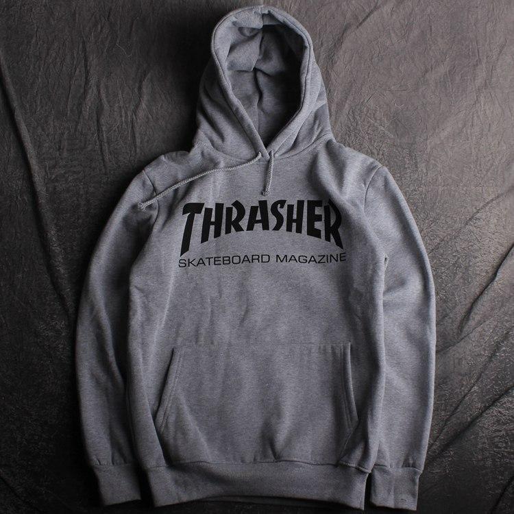 Толстовкав стиле HUF Thrasher | Кенгурушка Трешер