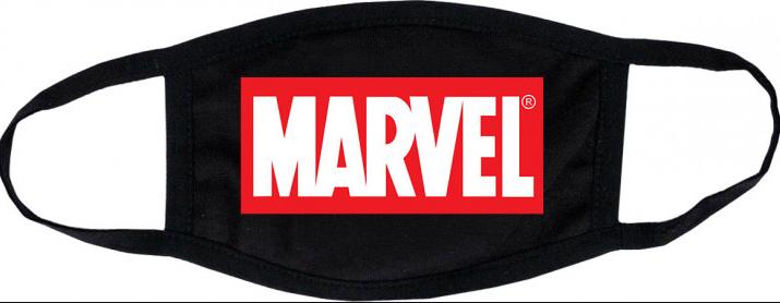 Защитная Маска для лица (Многоразовая) Marvel (женская,детская,мужская)