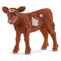 Фигурка Schleich Farm World Телёнок породы техасский лонгхорн 13881, КОД: 2430393