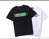 Футболка VLONE черная с зеленым логотипом мужская,женская,детская, фото 2