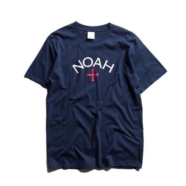 Футболка Noah синяя мужская,женская