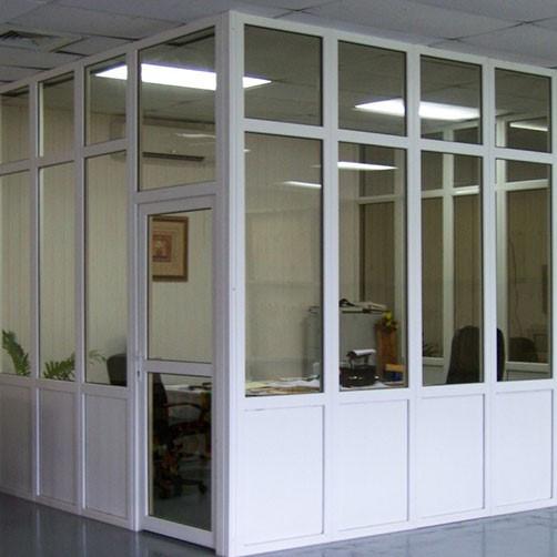 Металлопластиковые перегородки для офисов и складов