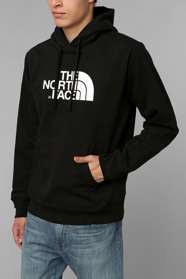 Худи The North Face черное с логотипом, унисекс (мужское, женское, детское)