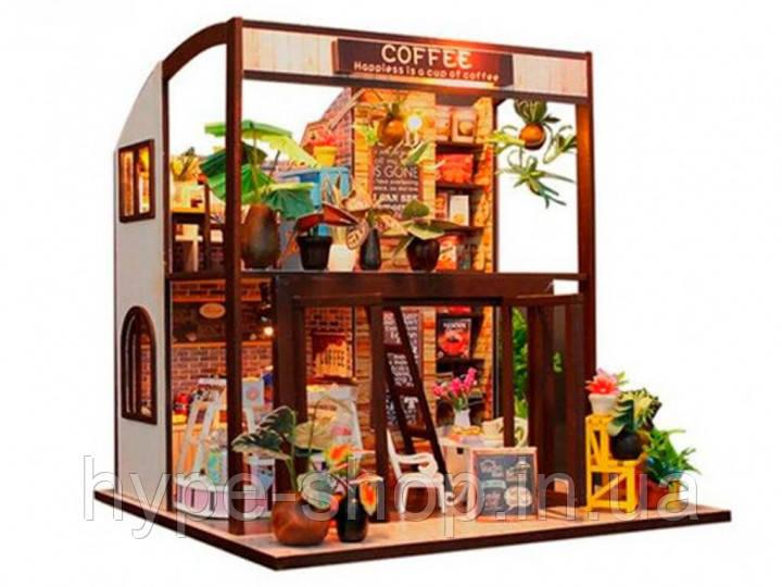 "3D Румбокс Кафе ""Coffee House"" DIY DollHouse"