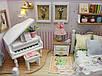 """3D Румбокс Кукольный Домик """"Because of You"""" DIY DollHouse + защитный купол, фото 4"""