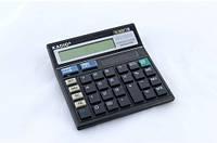 Калькулятор настольный Kadio KD500 Черный opw45016, КОД: 1671184