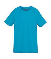 Детская спортивная футболка Fruit of the Loom 116 см Голубой D0610130ZU116, КОД: 1670306