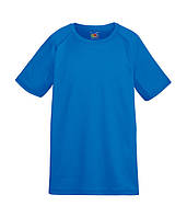 Детская спортивная футболка Fruit of the Loom 104 см Ярко-Синий D061013051104, КОД: 1670336