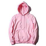 Худи Anti social social club (A.S.S.C), розовое с логотипом , унисекс (мужское, женское, детское), фото 2