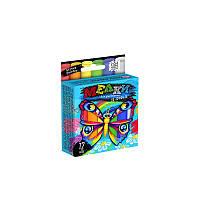 Мел для рисования на асфальте Danko Toys тонкий 12 штук MEL-02-03U, КОД: 1528394