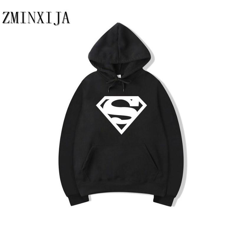 Худи Superman черное, унисекс (мужское, женское, детское)