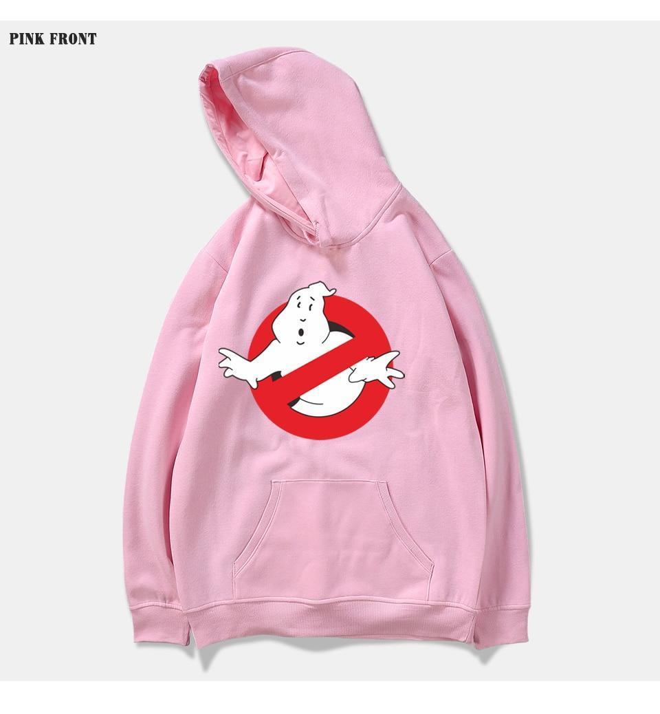 Худи Ghostbusters розовое, унисекс (мужское, женское, детское)