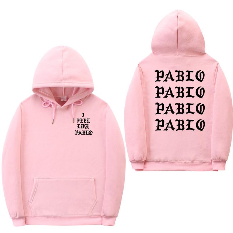 Худи Kanye West - I Feel Like Pablo Paris розовое, унисекс (мужское, женское, детское)