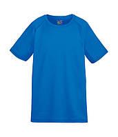 Детская футболка Fruit of the Loom 116 см Ярко-Синий D061013051116, КОД: 1670337