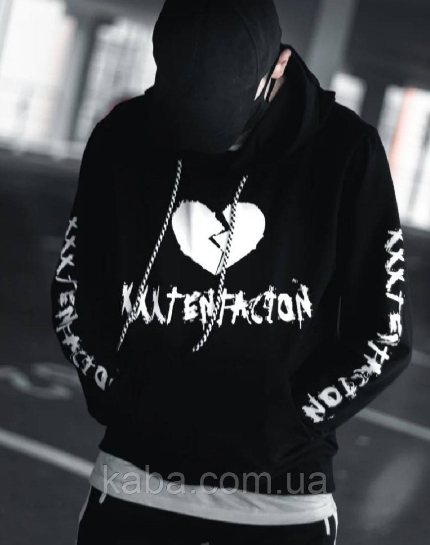 Худи XXXTentacion черное унисекс