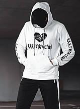 Худі XXXTentacion біле унісекс
