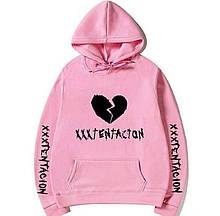 Худі XXXTentacion рожеве унісекс