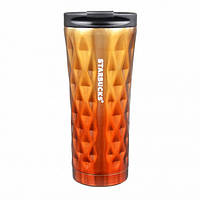 Термос-термокружка Starbucks EL-276 500 ml Оrange 300535OR, КОД: 1849929