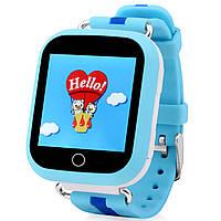 Детские смарт-часы UWatch Q100S с Bluetooth Blue 2965-8319, КОД: 359973