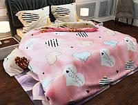 Семейный набор хлопкового постельного белья из Бязи Gold 154152AB Черешенка BC4G154152AB, КОД: 1891508