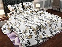 Семейный набор хлопкового постельного белья из Бязи Gold 158581 Черешенка BC4G158581, КОД: 1891510