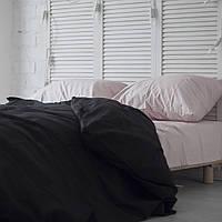 Комплект постельного белья Хлопковые Традиции семейный 200x220 Черно-розовый PF051семейный, КОД: 740609