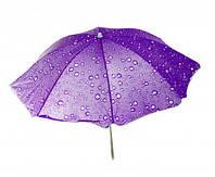 Зонт пляжный Toysi Капельки Фиолетовый TOY-106619, КОД: 2395833