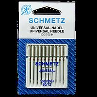 Набір голок для швейної машини Schmetz Універсальний 80 12 10 шт шметс-13, КОД: 1773860
