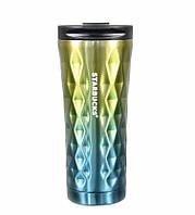 Термос-термокружка Starbucks EL-276 500 ml Diamond Waves 300535DI, КОД: 1849930