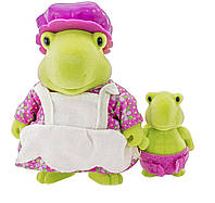 Набор фигурок Lil Woodzeez Черепахи мама и малыш 6134M, КОД: 2429303