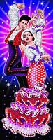 Набор для творчества Sequin Art STRICTLY Танцоры SA1407, КОД: 2444648