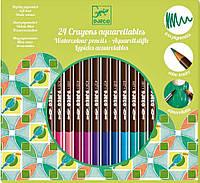 Набор для творчества Djeco Акварельные карандаши 24 штуки DJ09754, КОД: 2447000
