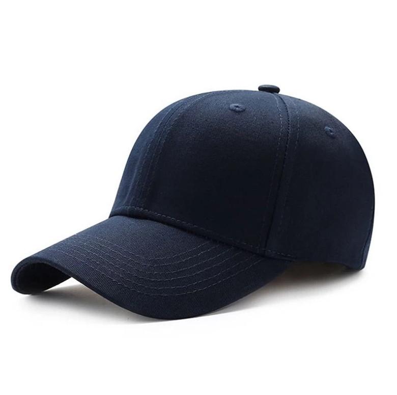 Кепка бейсболка однотонная Синяя 1, Унисекс
