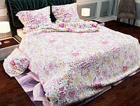 Семейный набор хлопкового постельного белья из Бязи Gold 156080 Черешенка BC4G156080, КОД: 1891499