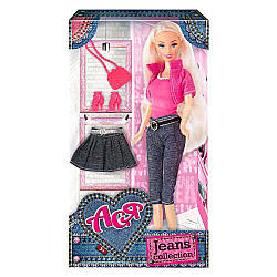 Кукла АСЯ Джинсовая коллекция Л35089, Maxland international