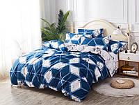 Семейный набор хлопкового постельного белья Черешенка из Бязи Gold 151420AB, КОД: 2402723