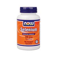 Selenium, Селен 200 мкг 180 капсул купить цена отзывы Киев