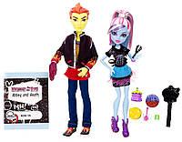 Ляльковий набір Монстер Хай Monster High Abbey Bominable and Heath Burns Хіт і Еббі