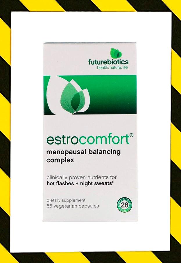 FutureBiotics, EstroComfort, Поддержка при менопаузе 56 капсул сделано в США
