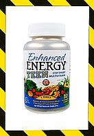 KAL, Мультивитамины Для улучшения памяти и концентрации, для подростков, 60 таблеток, фото 1