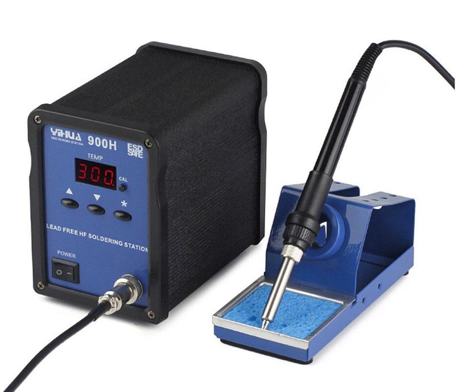 YIHUA-900H паяльная станция, индукционная, антистатик,  от 100°С до 480°C, мощность: 90 Вт