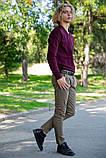 Свитер мужской 117R008(1100) цвет Сливовый, фото 2
