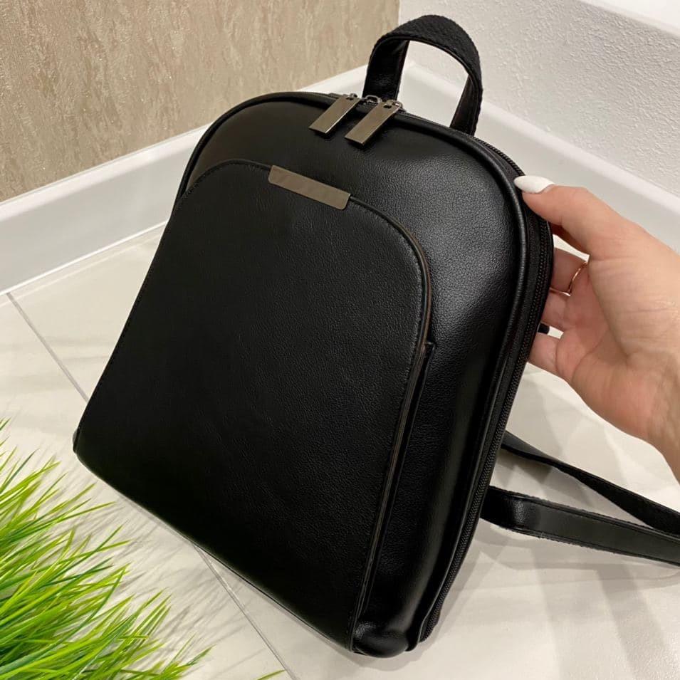 Женский рюкзак Джерси черный РДК45