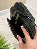 Женский рюкзак Джерси черный РДК45, фото 2