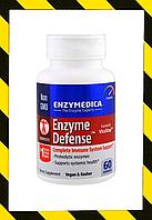 Enzymedica, Энзимная защита, 60 капсул, фото 1
