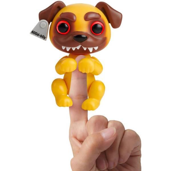WowWee Grimlings Интерактивная ручная собачка щенок оборотень 4331 Pug Interactive Animal Toy