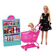 Кукла Defa 8364-BF_bl игровой набор, черное платье, фото 4